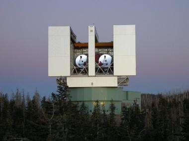 New instrument casts its eyes to the sky