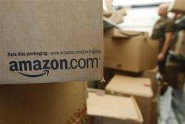 Amazon 3Q profit jumps 16 percent, but costs rise (AP)