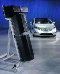 Argonne battery technology helps power Chevy Volt
