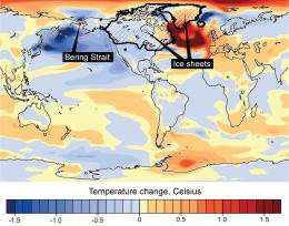 Bering Strait influenced ice age climate patterns worldwide