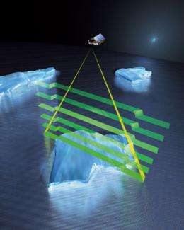 ESA's ice mission goes live
