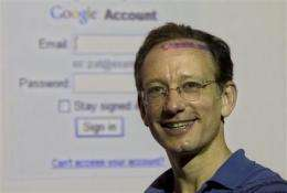 Google executive pushes privacy concerns (AP)