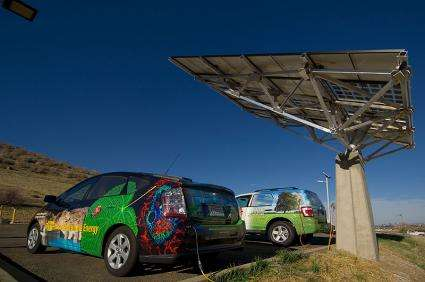 Parking lots could become 'solar groves' (w/ Video)