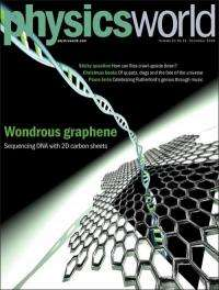 Physicists use graphene to decode DNA