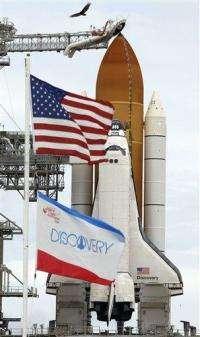 Rain delays space shuttle launch; now set for Fri. (AP)