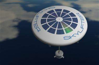 SkyLifter airship may one day carry buildings