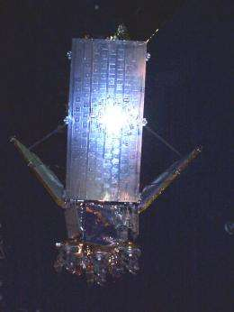 Solar sail flares can be seen in broad daylight