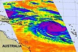 Solomon Islands under warnings for category 4 Cyclone Ului