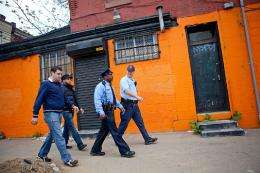 Study recommends fighting crime the old-fashioned way