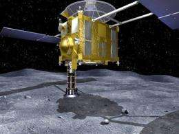 The Hayabusa spacecraft was launched in 2003