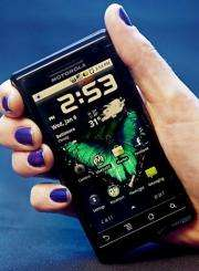 The Motorola Droid smartphone