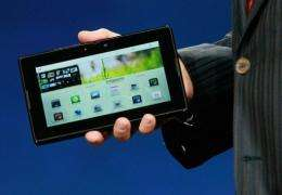 The new BlackBerry PlayBook
