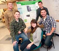 Undergraduates design clean, green heating machine