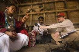Undocumented language found hidden in India (AP)