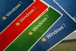 Windows 7 sales boost Microsoft 4Q net income (AP)