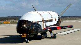Air Force: winged robotic spacecraft launched