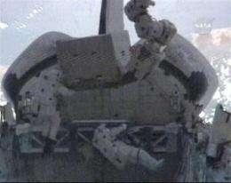 Astronauts take 3rd, final spacewalk; valve stuck (AP)