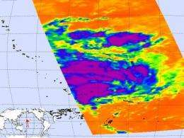 Tropical Storm Tomas calls for alerts in south Pacific