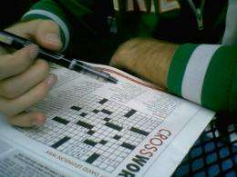 Can you prevent Alzheimer's disease by doing crossword puzzles?