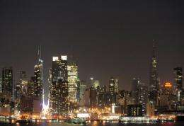 A general view of the New York City skyline