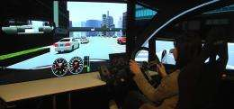 Fujitsu offers virtual driving experience