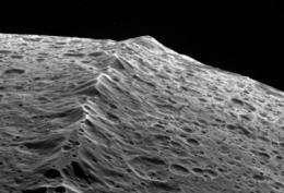 How Iapetus got its ridge