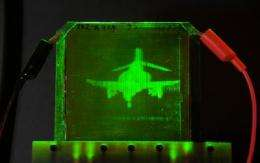 Moving holograms: From science fiction to reality