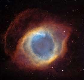 Helix nebula. Courtesy of C. Robert O'Dell