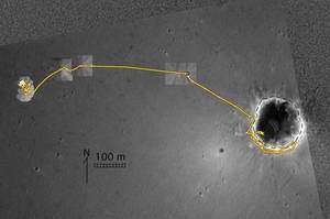 The traverse of NASA's Mars Exploration Rover Opportunity