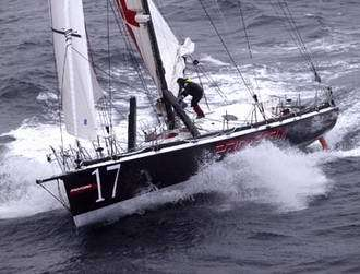 Space technology onboard transatlantic racer