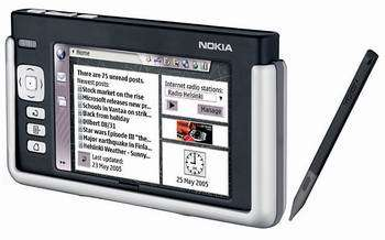 Nokia 770 Internet Tablet Starts Shipping
