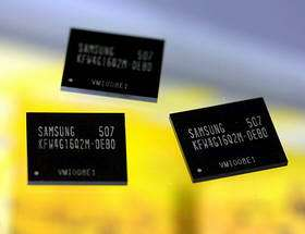 Samsung Develops 4Gb OneNAND Flash for Multimedia Phones