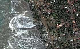 Tsunami Strikes Sri Lanka
