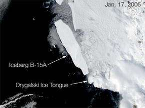 Scientists witness hundreds of cracks in the sea ice