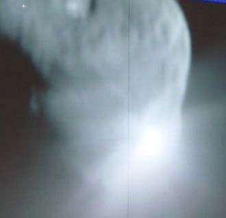Deep Impact's Impactor Meets Tempel 1 Comet