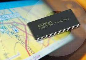 """Elpida's """"Super Self Refresh"""" Memory Achieves Industry's Lowest Self Refresh Current, Extending Battery Life for Portable Consum"""