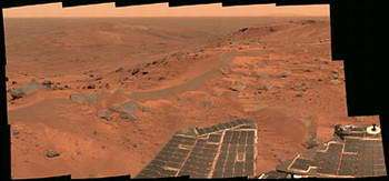Water detection at Gusev crater described
