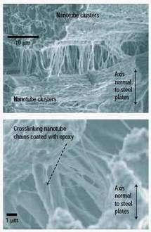 Carbon Nanotube 'Shock Absorbers' Excel at Dampening Vibration