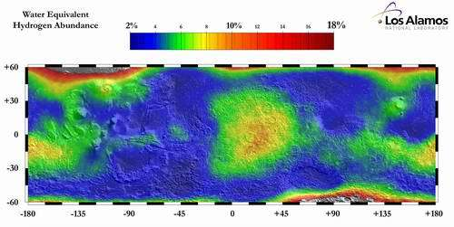 Simulations Show Liquid Water Could Exist on Mars