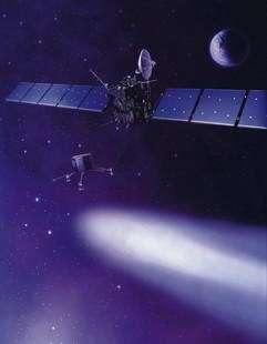 UK scientists set to glimpse Rosetta as it swings by Earth