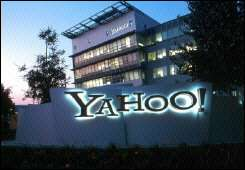 Yahoo! corporate headquarters in Sunnyvale, California