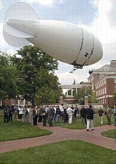 Students Steer a Blimp to Test Near Space Military Technology