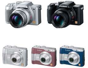 New LUMIX Digital Still Cameras