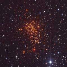 Massive star cluster in our backyard - astronomically speaking!