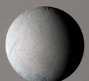 Cassini Finds Particles Near Saturn's Moon Enceladus