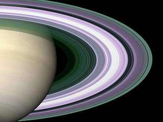 Cassini Radio Signals Decipher Saturn Ring Structure