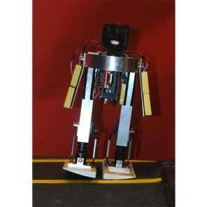 The MIT learning biped