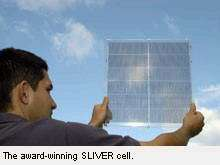 Sliver solar technology does it again