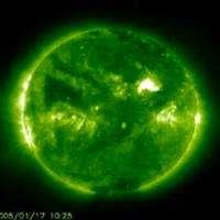 Sunspot Creates a Stir; Auroras Likely