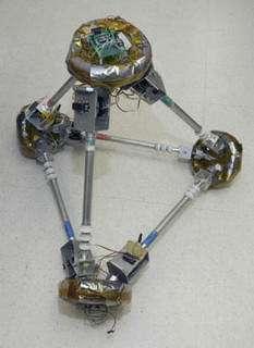 NASA Tests Shape-Shifting Robot Pyramid for Nanotech Swarms